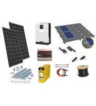 12V  1kW Sistem fotovoltaic / Instalatie fotovoltaica
