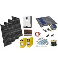 24V 1 kW Sistem Fotovoltaic / Instalatie fotovoltaica