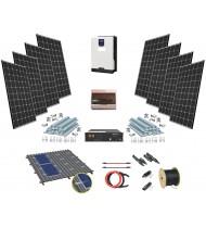 24V LiFePO 2kW Sistem Fotovoltaic cu tehnologie Litiu