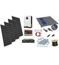 24V LiFePo 1kW Sistem Fotovoltaic cu tehnologie Litiu