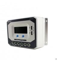 45A 12-24V Regulator / Controler solar cu USB 5V/2,4A, Incarcator Solar