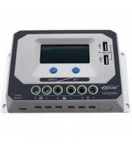 30A 12-24-48V Regulator / Controler solar cu USB 5V/2,4A, Incarcator Solar